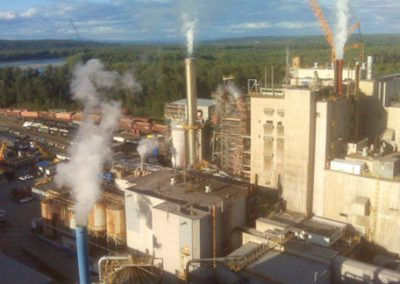 pulp and paper mill photo